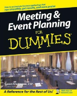 Meeting & Event Planning for Dummies (Paperback)