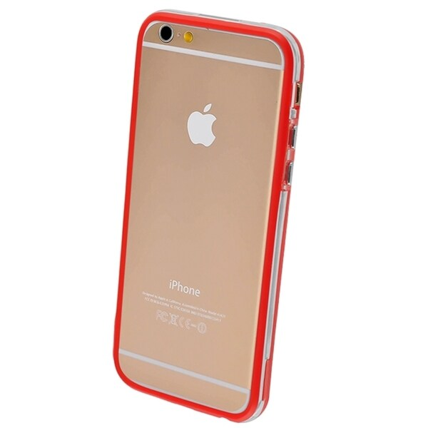INSTEN Colorful Bumper Frame Phone Protector Cover For iPhone 6