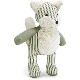 Loved Ones Durable Fox Dog Toy-Green