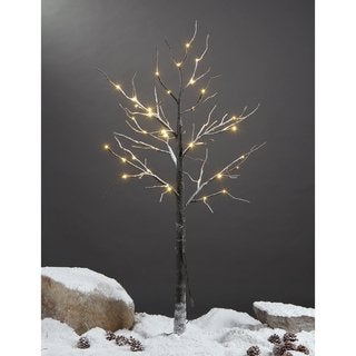 Lightshare 4 Foot LED Snow Tree