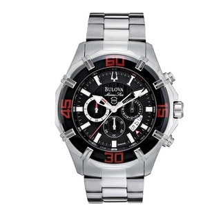 Bulova Men's96B154 Stainless Steel Chronograph Watch