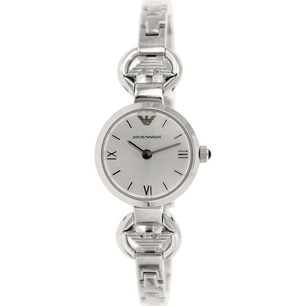 Armani Women's AR1775 Logo Half Bangle Watch
