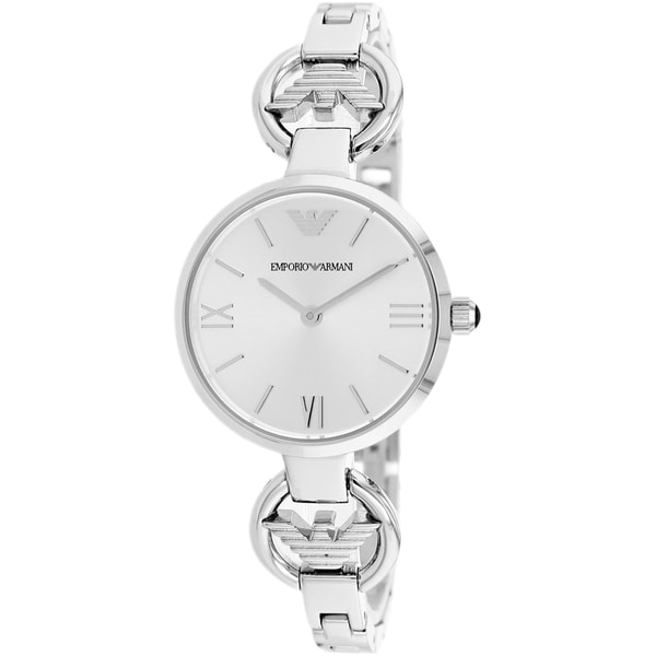 Armani Women's AR1772 Retro Stainless Steel Watch