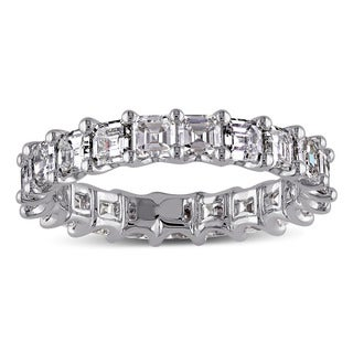 Miadora 14k White Gold 2 1/2ct TDW Asscher Cut Diamond Ring (G-H, VS1-VS2)