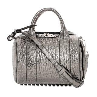 Alexander Wang 'Rockie' Metallic Leather Satchel