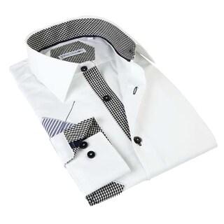 John Lennon Men's Long Sleeve Black Sport Shirt