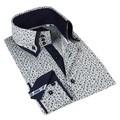John Lennon Men's Navy  Long Sleeve Sport Shirt