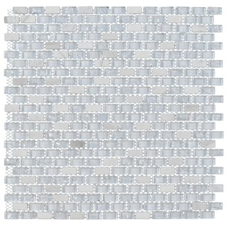 ICS S-2179 Glass and Marble Mosaic