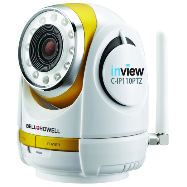 Bell+Howell InView HD 720p Wireless Pan/ Tilt/ Zoom Night Vision Surveillance Camera