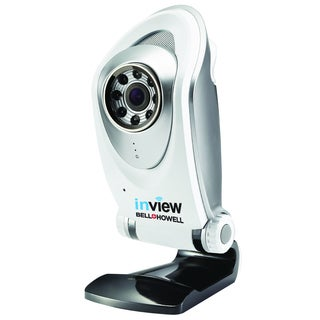 Bell+Howell InView HD Night Vision Wireless Tabletop Surveillance Camera
