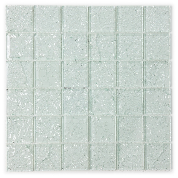ICL I-130 Crackle Glass Mosaic