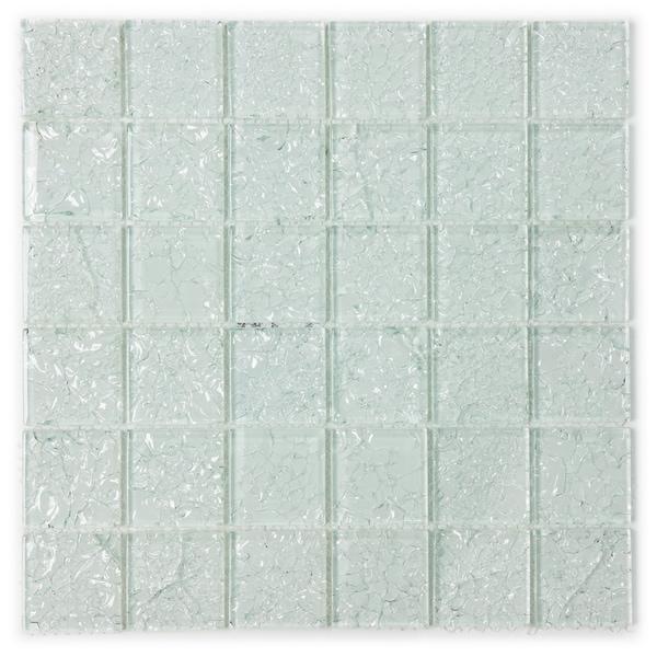 ICL I-130 Crackle Glass Mosaic