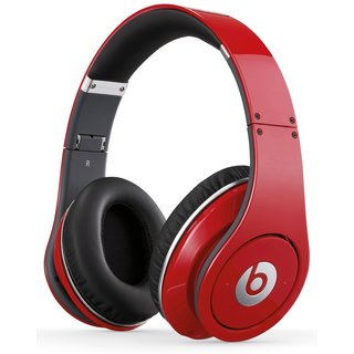 Beats Studio Over-Ear Red Headphones