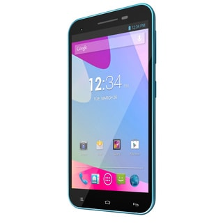 BLU Studio 5.5 D610a Blue Unlocked GSM Dual-SIM Android Cell Phone (Refurbished)