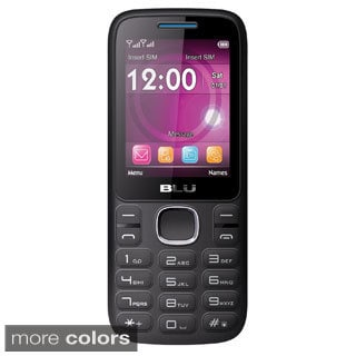 BLU Zoey 2.4 T278 Unlocked GSM Dual-SIM Cell Phone