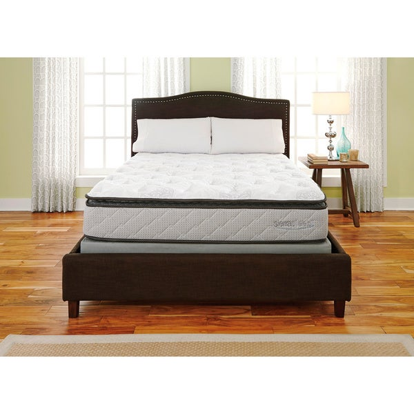 Sierra Sleep Mount Whitney Pillow Top California King-size Mattress or Mattress Set