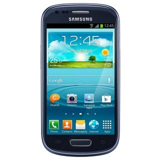 Samsung Galaxy S3 Mini I8200 8GB Value Edition Blue Unlocked GSM Phone (Refurbished)