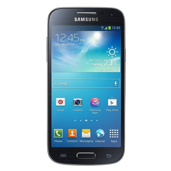 Samsung Galaxy S4 Mini Duos Black Unlocked GSM Dual-SIM Phone (Refurbished)