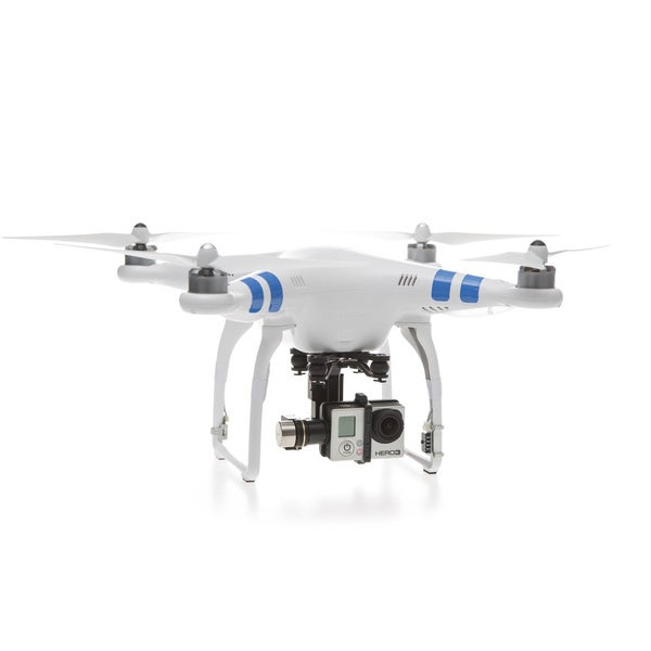 DJI Phantom 2 Zenmuse H3-3D 3-Axis Gimbal Quadcopter