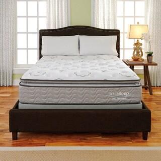 Sierra Sleep Mount Harvard Pillow Top California King-size Mattress or Mattress Set