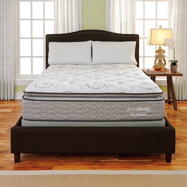 Sierra Sleep Mount Harvard Pillow Top California King-size Mattress or Mattress Set