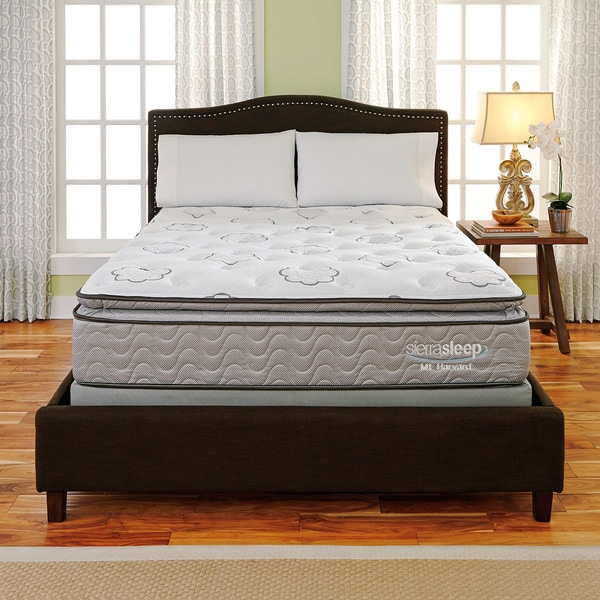 Sierra Sleep Mount Harvard Pillow Top King-size Mattress or Mattress Set