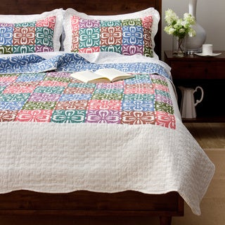 Slumber Shop Gabriella 3-Piece Reversible Quilt Set