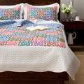 Slumber Shop Gabriella 3-Piece Reversible Quilt Set