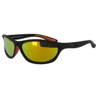 Vuarnet Extreme Unisex 'VE 7006' Matte Brown Athletic Polarized Sunglasses