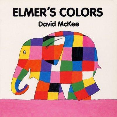 Elmer's Colors (Board book)