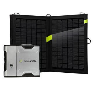 Goal Zero Sherpa 50 Solar Recharging Kit with Inverter