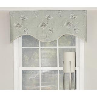 Desert Flower Mist Cornice Window Valance