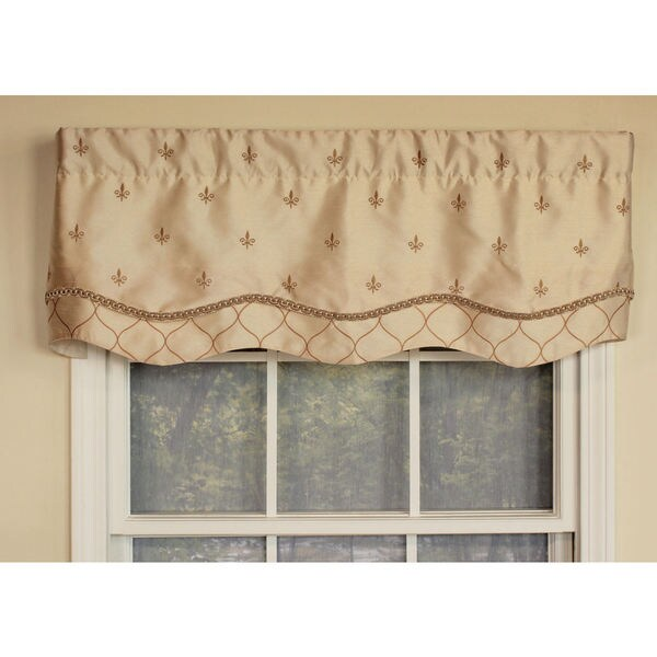Coat of Arms Beige Glory Valance