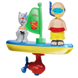 Imports Dragon Caillou Bath Time Vehicles