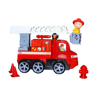 Imports Dragon Caillou Light and Sounds Fire Truck