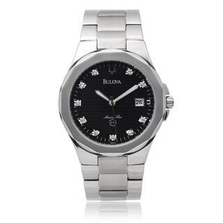 Bulova Men's Stainless Steel 'Marine Star' 1/10 TDW Watch (I-J, I1-I3)