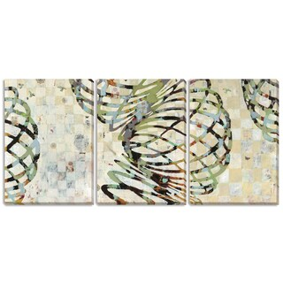 Gallery Direct Judy Paul 'Twist I', 'II' and 'III' 3-piece Gallery-wrapped Canvas Art