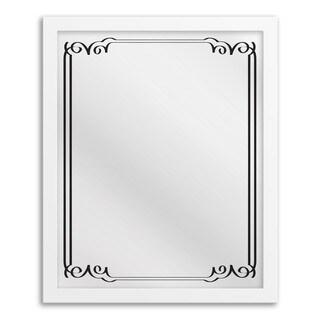 Gallery Direct Art Deco II Hanging Framed Mirror Art
