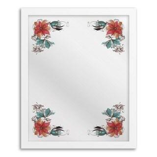 Gallery Direct Bouquet Corner Mirror Art