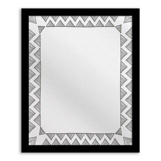 Gallery Direct Chevron Whimsy Mirror Art