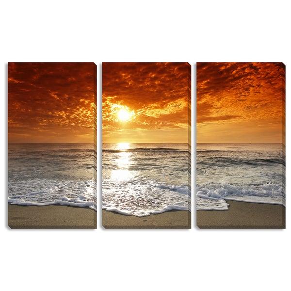 Seashore Triptych Art