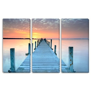 Gallery Direct The Pier Triptych Art