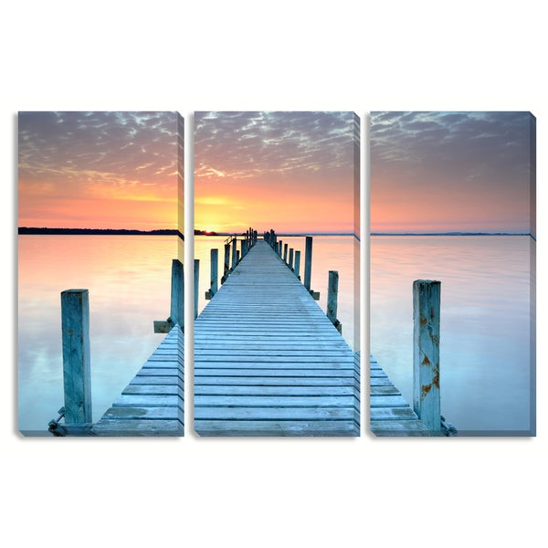 The Pier Triptych Art