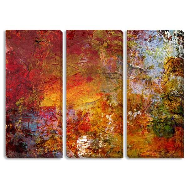 Fall Glow Triptych Art