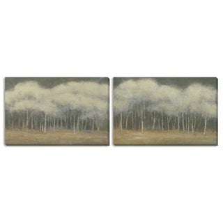 Kim Coulter's 'Quiet Moment I' and 'II' Canvas Art Set