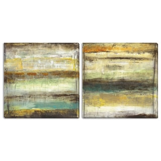 Jane Bellows' 'Provoke I' and 'II' Canvas Art Set