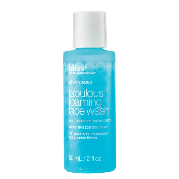 Bliss Fabulous Foaming 2-ounce Face Wash 14225112