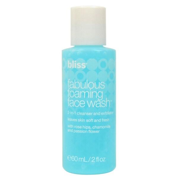 Bliss Fabulous Foaming 2-ounce Face Wash