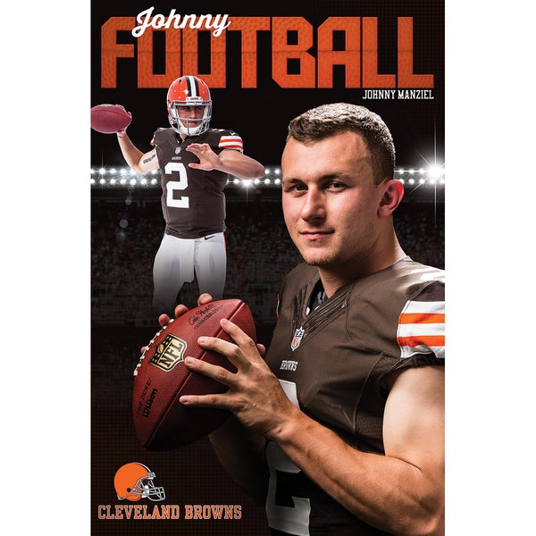 Johnny Manziel Poster 22inX34in