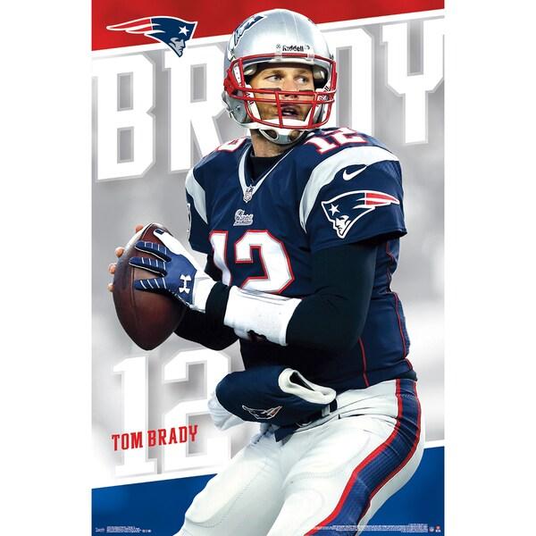 Tom Brady Poster 22inX34in